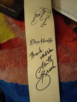 Garth Brooks autographed guitar strap for Sale in Modesto, CA