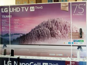"75"" lg 4k smart led TV for Sale in Santa Ana, CA"