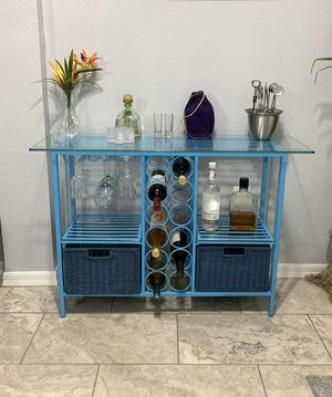 Wine cabinet (Pier one Imports ) for Sale in New Port Richey, FL
