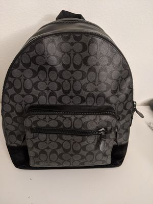 Excellent Condition Black Coach BackPack for Sale in Irvine, CA