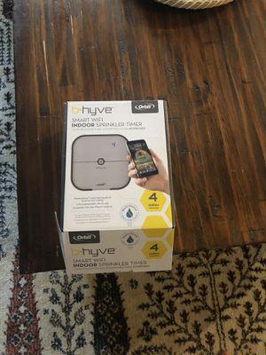 B-hyve 4 zone WiFi smart sprinkler timer for Sale in Fresno, CA