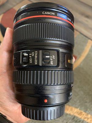 Canon 24-105mm 4/F for Sale in Dublin, CA