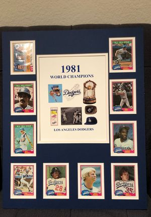 Dodger memorabilia for Sale in Santa Monica, CA
