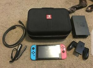 Nintendo Switch 32GB Console with Neon Blue/Red Joycon (Low Serial) Version 1 for Sale in Darien, CT