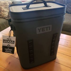 Yeti hopper backflip 24 charcoal color new for Sale in Bruce, WI