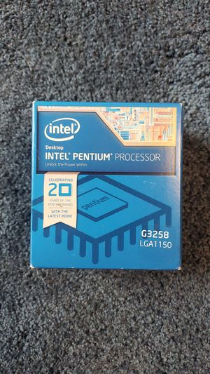 Intel Pentium G3258 for Sale in Tallahassee, FL