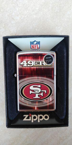 49ers Zippo lighter for Sale in Riverside, CA