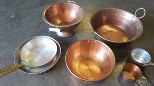 Copper pans for Sale in Orlando, FL