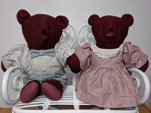 Ma & Pa teddy bears for Sale in El Cajon, CA