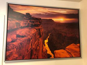 Large Framed Print Of The Grand Canyon for Sale in Santa Fe, NM