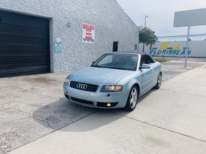 2005 Audi A4 Cabriolet 1.8T (Turbo) for Sale in Tampa, FL