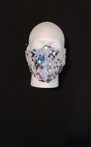 Sequins Fashion Face Cover Mask for Sale in San Diego, CA