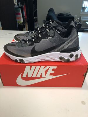 Nike React Element 87 Anthracite size 11 for Sale in Banks, OR