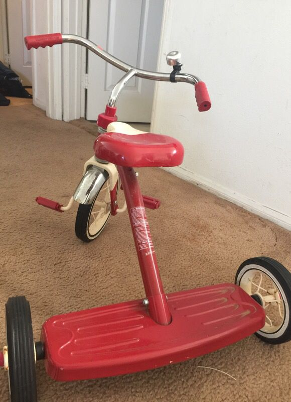 Vintage radio flyer bike