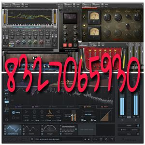 Waves Ozone FabFilter mix & record for Sale in St. Louis, MO