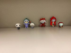 Nightmare before Christmas key chains and tiny figurines for Sale in Baton Rouge, LA