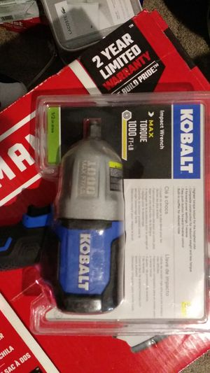 Cobalt Mac ft lb impact wrench for Sale in Pittsburg, CA