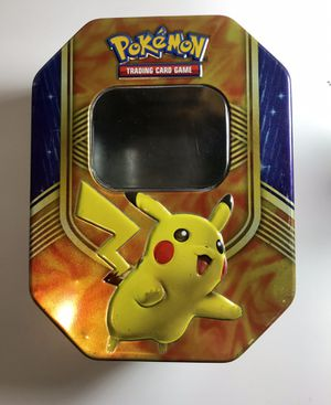 Pokemon Pikachu EX Empty Tin Box for Sale in Apex, NC