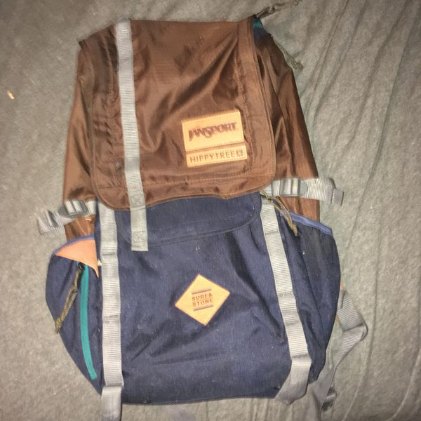 Jansport Hippie tree backpack with back support