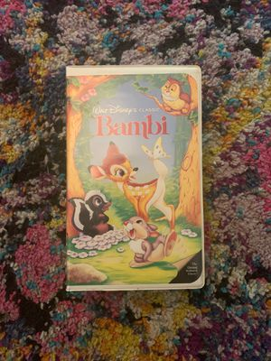 BLACK DIAMOND VHS - Walt Disney's Bambi for Sale in Cleveland, OH