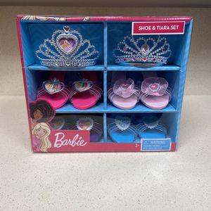 Barbie Shoe & Tiara for Sale in San Diego, CA