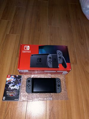 NINTENDO SWITCH BUNDLE WITH GAME ! for Sale in Santa Ana, CA