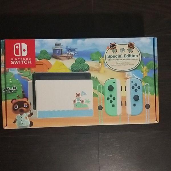 Animal crossing Nintendo switch/Super mario 3d all stars