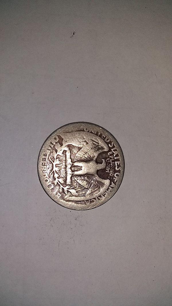 1936 Silver Washington quarter