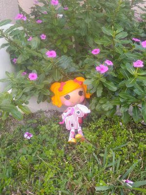 Lalaloopsy doll spots and her pet zebra for Sale in Deltona, FL