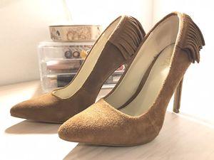 Suede Fringe heels. 5.5 for Sale in Kissimmee, FL