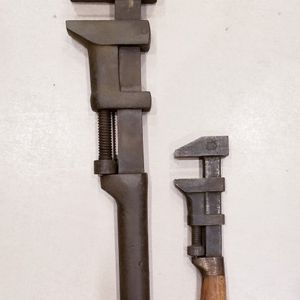 """2 Vintage BEMIS & CALL Monkey Wrenches: 10"""" Wrench & 18"""" Wrench for Sale in Gaithersburg, MD"""