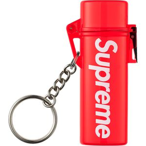 Supreme Waterproof Lighter Case Keychain (Red) for Sale in Silver Spring, MD