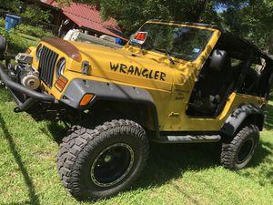2000 Jeep Wrangler TJ Sport for Sale in Spring, TX