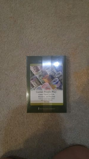 The Great Courses - Games People Play: Game Theory in Life, Business, and Beyond - Parts 1 & 2 for Sale in Gainesville, VA