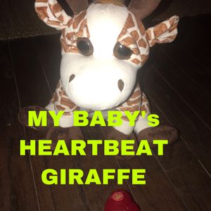 My Baby's Heartbeat Bear - Heartbeat Animals (Ultrasound, Pregnancy, Stuffed) for Sale in Terrell, TX
