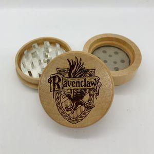 Harry potter ravenclaw laser engraved wood kitchen herb grinder Christmas gift kitchen pop for Sale in Los Angeles, CA