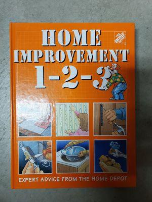 HOME DEPOT Home Improvement Book for Sale in San Bernardino, CA