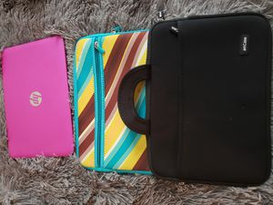 """Hp Stream 11""""Laptop Pink with 2 cases for Sale in Haysville, KS"""