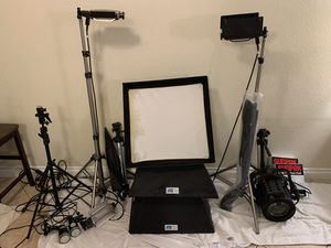 18 pc Photography Set for Personal Use or Resell (see description) for Sale in Las Vegas, NV