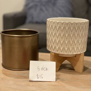 Planter / pots (various types & sizes) for Sale in Emeryville, CA