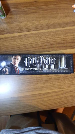 Harry Potter's wand with illuminating tip for Sale in San Bernardino, CA