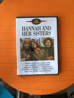 Hannah and Her Sisters (DVD - Movie) UNOPENED for Sale in San Francisco, CA
