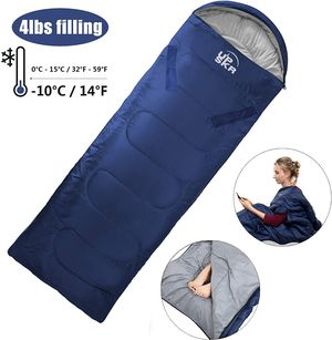 Envelope Sleeping Bag with Compression Sack, Lightweight and Protable for Sale in Corona, CA