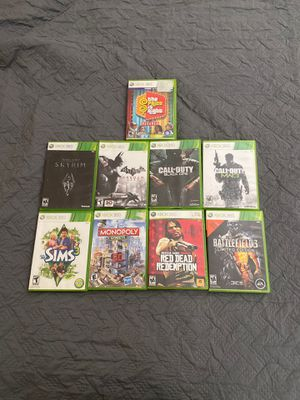 Xbox 360 Games (Random) 5$/each for Sale in Baltimore, MD