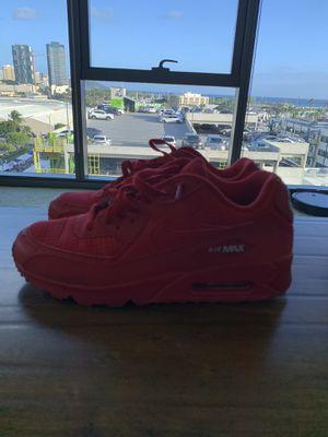Men's Nike Red Airmax Size 10 for Sale in Honolulu, HI