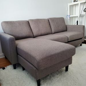 "82"" Reversible Sofa And Chaise for Sale in Los Angeles, CA"