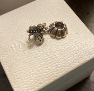 Pandora butterfly charm for Sale in Fresno, CA