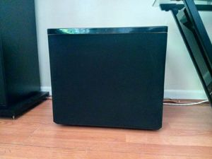 Amazing sounding sub. Mirage BPS 150i bipolar powered subwoofer. for Sale in Tampa, FL