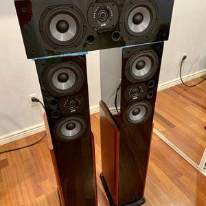 Polk LSi15 & LSiC Audiophile Front Soundstage for Sale in Scottsdale, AZ