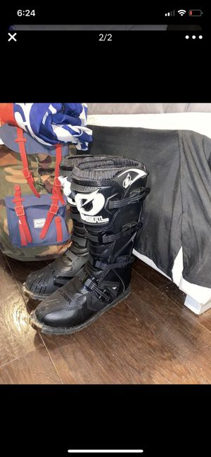 Oneal dirt bike motocross boots size 10 for Sale in Los Angeles, CA
